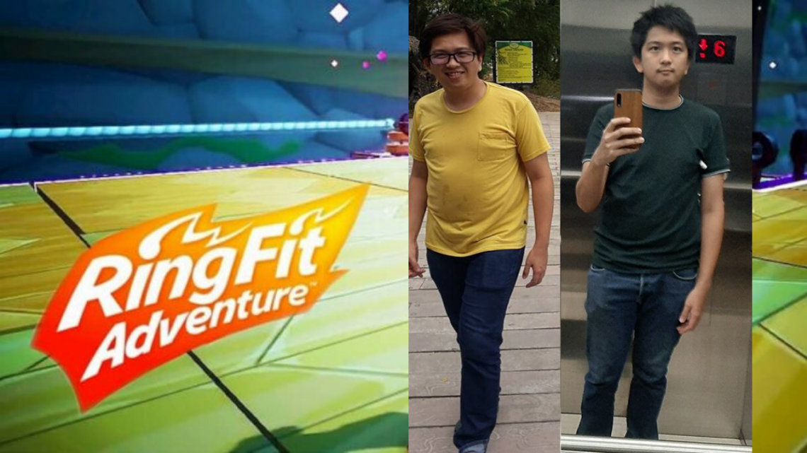 Ring Fit Player loses weight